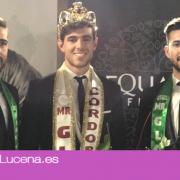 El  lucentino Manuel Moya consigue la corona de Mister Global Córdoba