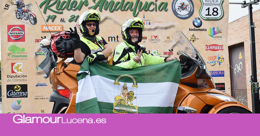 Se celebra la Rider Andalucía 2018 bajo el lema «La Quinta Marcha»