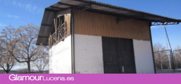 El hangar de la antigua estación de Las Navas se recuperará como espacio cultural