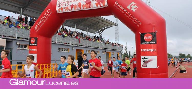 La Carrera Popular Ciudad de Lucena moviliza a 2.065 corredores