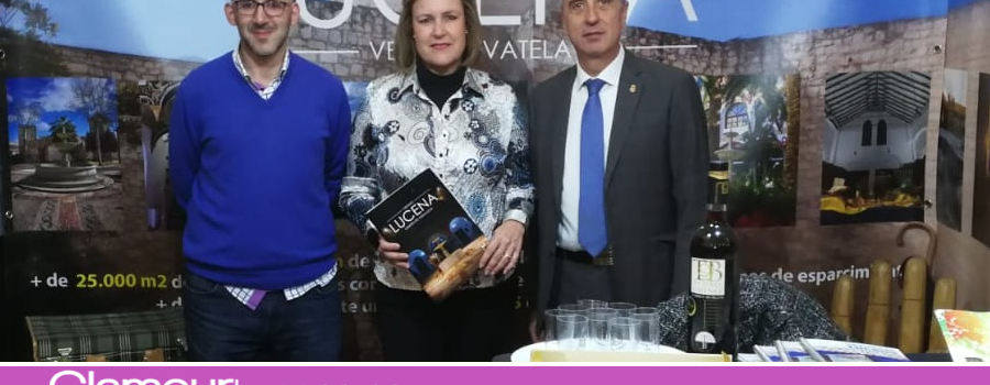 Estreno del paquete turístico-comercial 'Lucena, ven y llévatela' en la Feria de los Municipios