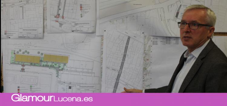 El Ayuntamiento de Lucena ejecuta diez obras PFEA en barrios de Lucena, Jauja y las Navas