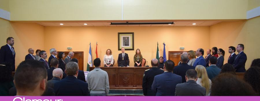El Ayuntamiento de Lucena conmemora el 40 aniversario de la Constitución Española