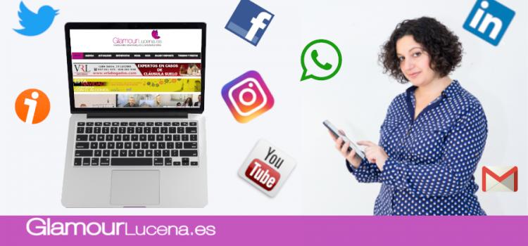 Glamour Lucena valorado como segundo medio de comunicación local más visto en 2018