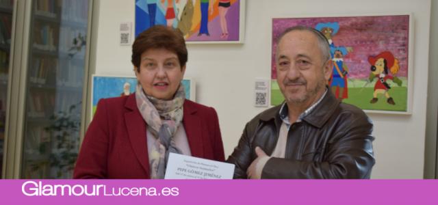 """Se inaugura la exposición """"Clásicos Animados"""" del pintor Pepe Gomez"""