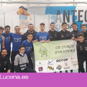 El C.D. Surco Lucena logra el primer podio de la temporada en Antequera en el Campeonato de Andalucía de Pista Cubierta Sub-20