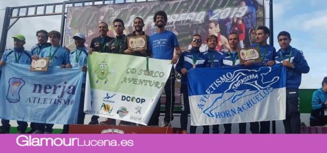 Campeones absoluto Masculino y semipleno en el Campeonato de Andalucía de Cross por clubes para el C.D. Surco Lucena