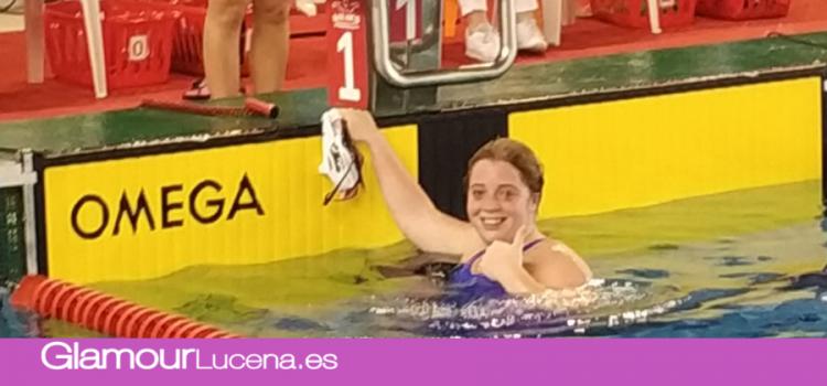 Elia Mª Cuenca consigue el bronce en el XXV Campeonato de España Open de  natación invierno