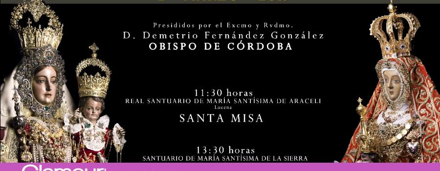 La Virgen de Araceli de Lucena y la Virgen de la Sierra de Cabra se hermanarán el próximo 2 de Marzo