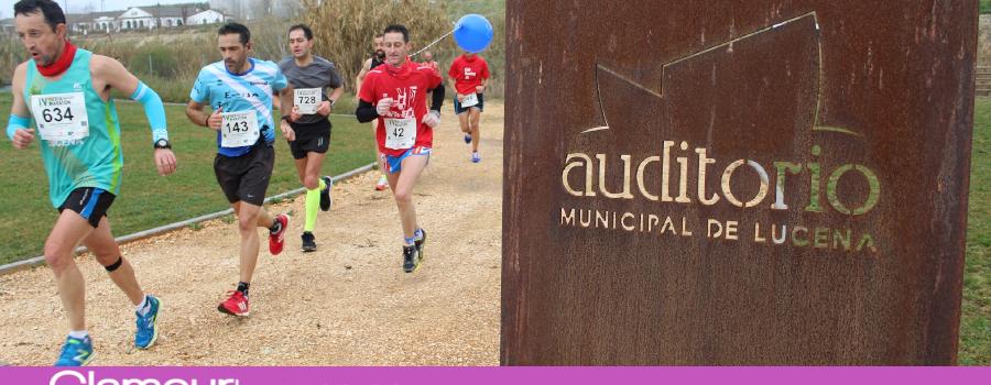 La Media Maratón de Lucena bate su récord con 1.150 corredores