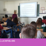 La Asociación El Sauce continua con su proyecto de sensibilización en el IES Alvarez Cubero de Priego de Córdoba