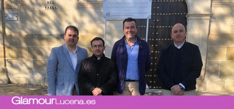 La Cofradía del Cristo del Valle y María Stma. de la Amargura anuncia una campaña para la construcción de un capilla para la virgen