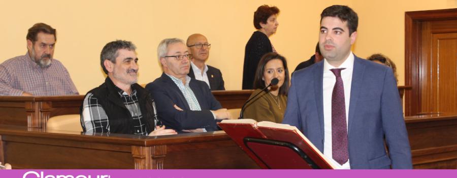 Jesús López toma posesión de su acta de concejal de Ciudadanos