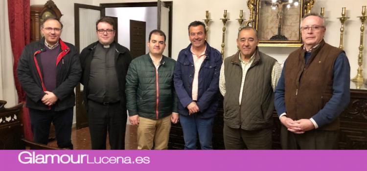 La Cofradía del Valle firma un acuerdo con la Parroquia de Santo Domingo para la salida procesional de su cortejo en 2019