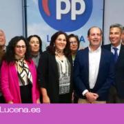 El Partido Popular de Lucena presenta su lista para las Elecciones Municipales del 26 de Mayo