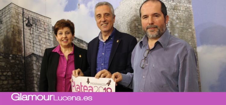 Lucena aumenta su programación cultural gracias al Programa Platea del Ministerio de Cultura