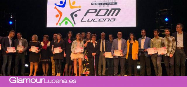 El PDM celebra la fiesta de los Premios del Deporte Lucentino