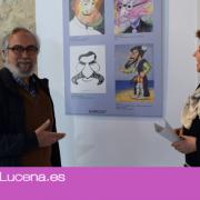 Marrugat y Pepe Farruco exponen sus Caricaturas en la Casa de los Mora