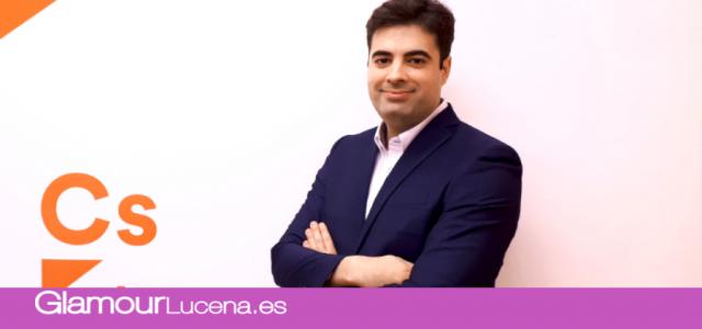 Jesús López, designado por Ciudadanos como candidato a la alcaldía de Lucena