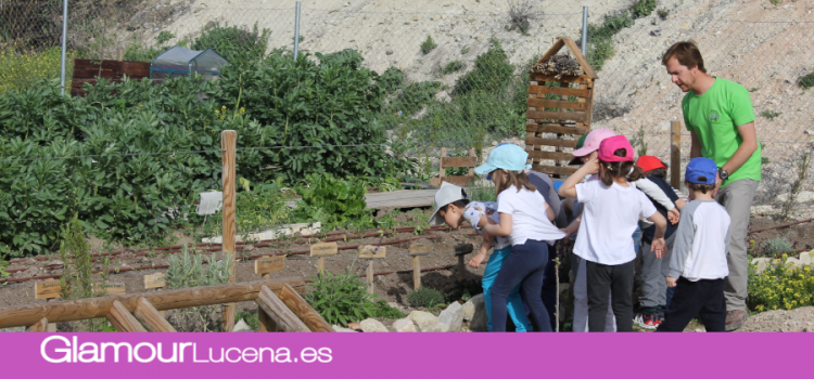 El programa educativo 'Nos acercamos a la huerta' implicará a 700 escolares de Lucena