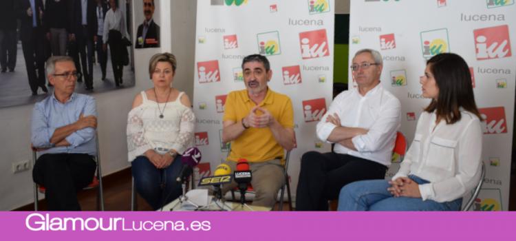 Izquierda Unida presenta su candidatura y programa electoral