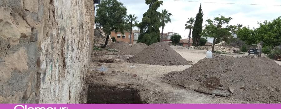 Comienzan las obras de restauración y consolidación del muro de la Huerta del Carmen