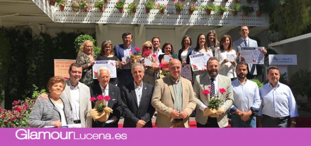 Se celebra la entrega de Premios del VII  Concurso de Patios, Rincones y Balcones de la Subbética