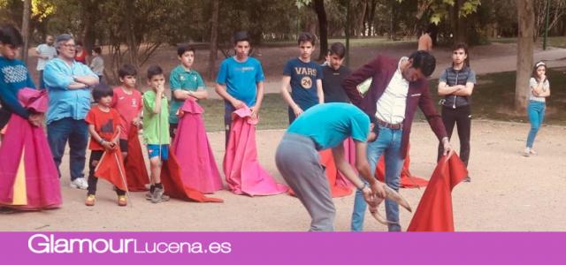 Emilio Justo comparte una tarde de entrenamiento en vísperas de la Corrida de Toros de Lucena