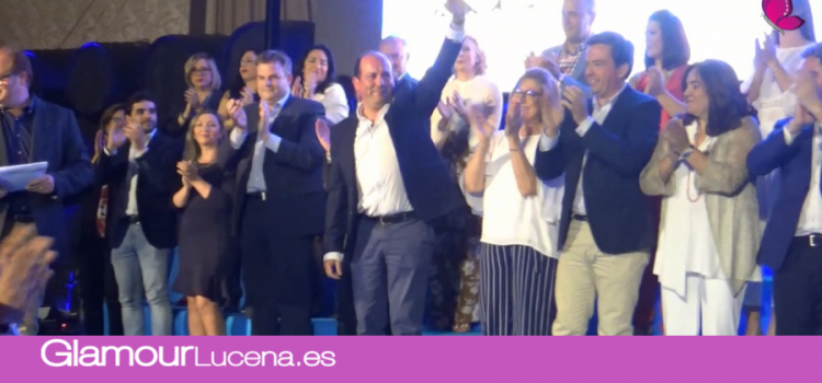 Asistimos a la espectacular presentación del equipo del Partido Popular para las Elecciones del 26M