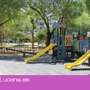 El Ayuntamiento invertirá 97.000 euros en la renovación de parques infantiles en Lucena, Jauja y Las Navas