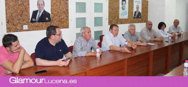 El Partido Popular de Lucena se reune con la Federación de Asociaciones de Vecinos
