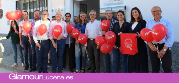 La campaña de los socialistas en Lucena comienza con un acto programado en el Centro Social Municipal de la Barrera