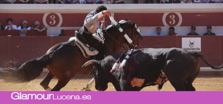 Pleno de triunfos en el festival Taurino de Lucena