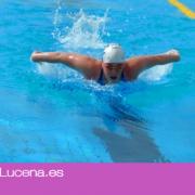 Gran Podium de Trofeos para la nadadora Elia Mª Cuenca en el XV Campeonato de Andalucía Open Master