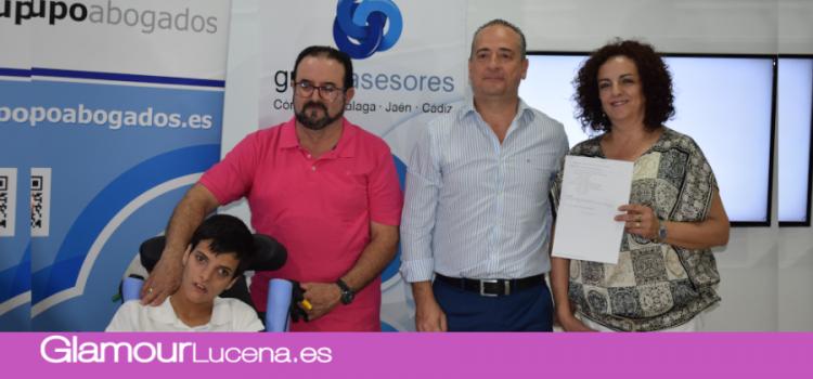 El Grupo Asesores colabora con la causa «el Iris de Alba» haciendo un llamamiento a la ciudadanía y empresas lucentinas