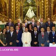 La nueva Junta de Gobierno de la Real Archicofradía de María Santísima de Araceli jura sus cargos