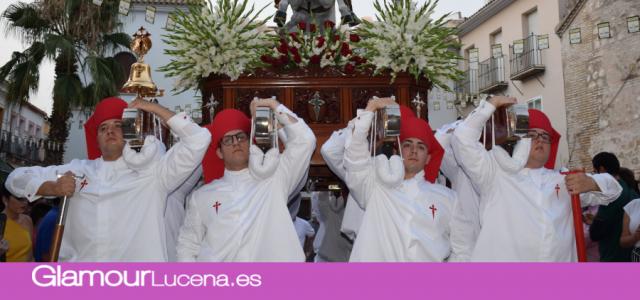 Imagenes de la Solemne Procesión de Santiago Apostol 2019