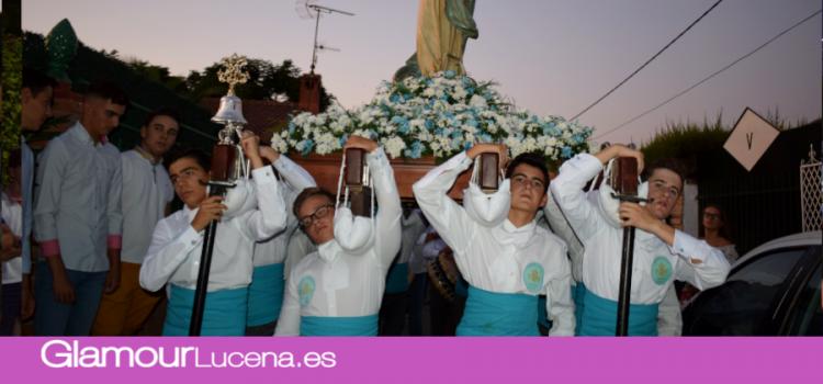 Tradicional procesión de la Virgen de las Vegas