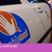 La aplicación Pide Taxi llega a Lucena