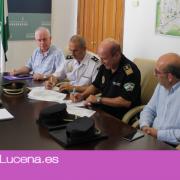 Firmado el protocolo policial que confirma la adhesión del Ayuntamiento de Lucena al Sistema VioGén
