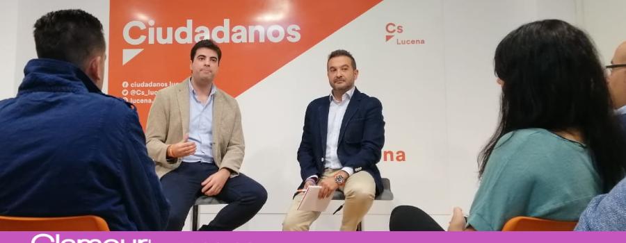 Ciudadanos asegura que a los jóvenes lucentinos hay que hablarles de futuro y el único presidente que lo hace es Albert Rivera