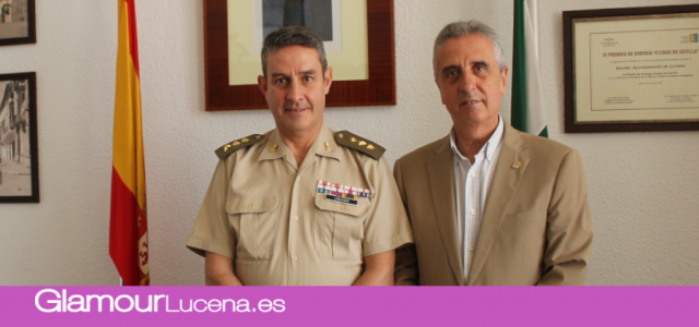 Visita Lucena el Subdelegado del Gobierno de Defensa en Córdoba Íñigo Laquidain