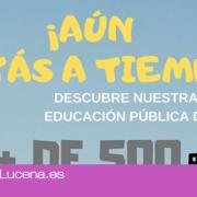 INFO: Jornada de puertas abiertas en la Escuela Oficial de Idiomas de Lucena