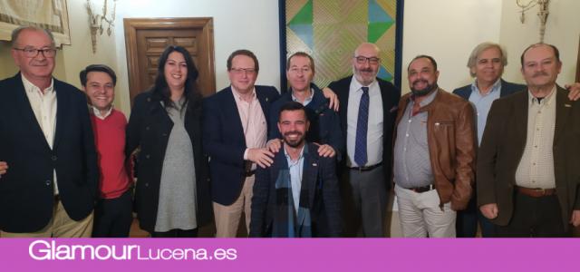 José Ramírez del Rio, nuevo diputado por VOX en Córdoba visita Lucena como fuerza política más votada en el municipio
