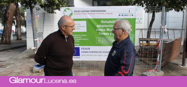 El Centro Social Municipal Santa Teresa y San Jorge reabrirá sus puertas a finales del mes de diciembre
