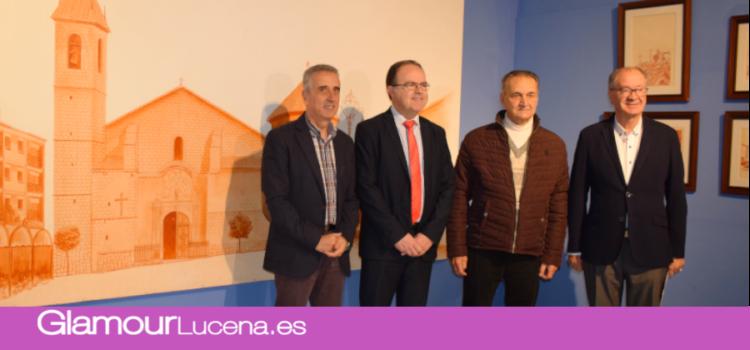 Cajasur cede la Colección pictórica «Plazas y Calles de Lucena» al consistorio lucentino