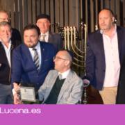 Lucena celebra el encendido de velas de la Janucá 5780