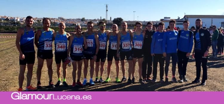 El equipo Surco Lucena campeones provinciales de cross en categoría masculina