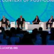 El lucentino Javier Morales de la Asociación Amigos de Europa asiste al Foro Mundial de la Juventud en Egipto