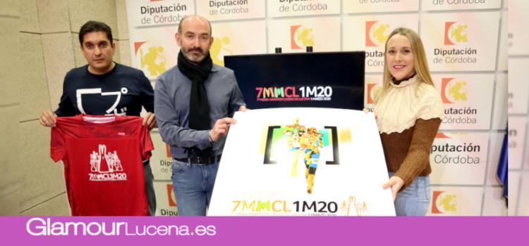 Se presenta en Diputación la 7ª Media Maratón Ciudad de Lucena